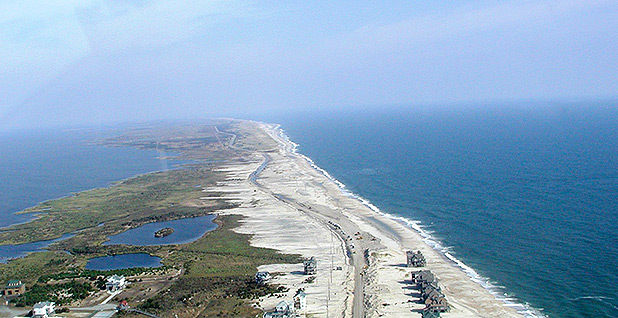 North Carolina coast