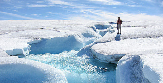 what is the great polar ice cap