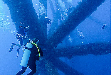 Gulf of Mexico artificial reef