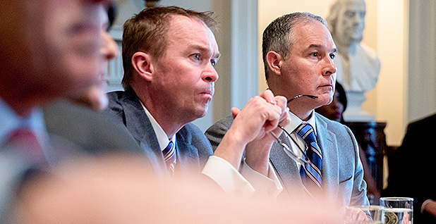 Mulvaney and Pruitt