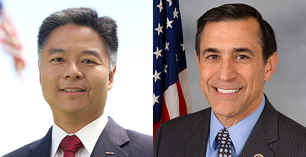 Ted Lieu and Darrell Issa