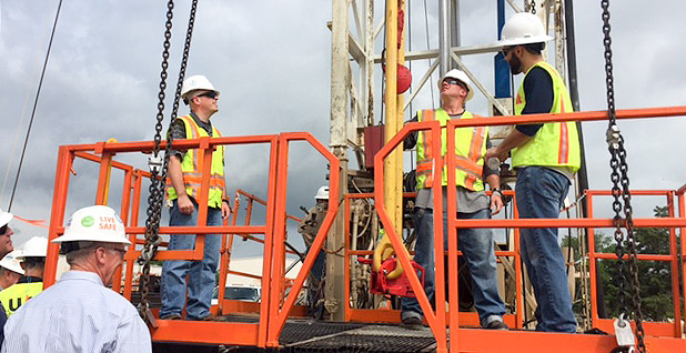 OSHA staff oil and gas rig safety operations
