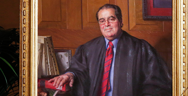 Justice Antonin Scalia official Supreme Court portrait