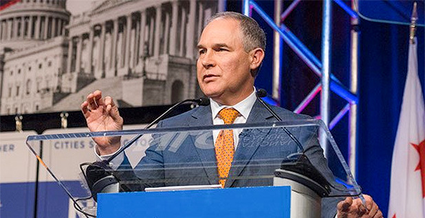 Scott Pruitt. Photo credit: @EPAScottPruitt/Twitter