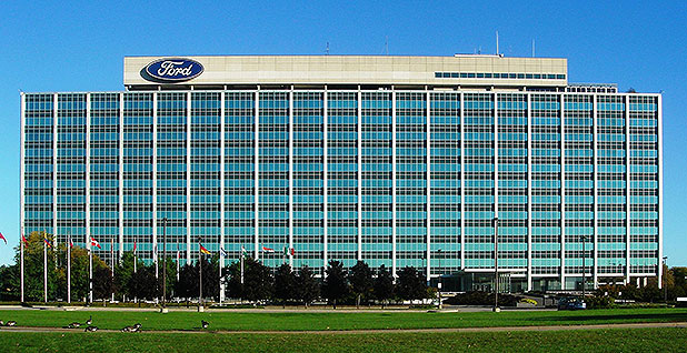 Ford Motors Co. headquarters. Photo credit: Dave Parker/Wikipedia