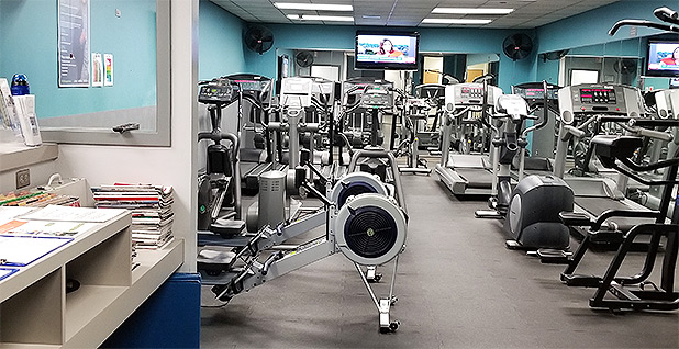 EPA's Chicago region office fitness center. Photo credit: Special to E&E News