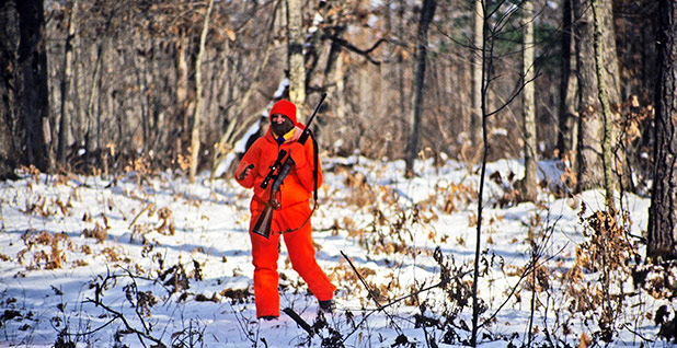 Hunting deer. Photo Credit: Wisconsin Department of Natural Resources/Flickr