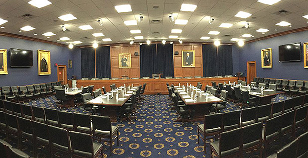 House Appropriations Committee room. Photo credit: @HouseAppropsGOP/Twitter