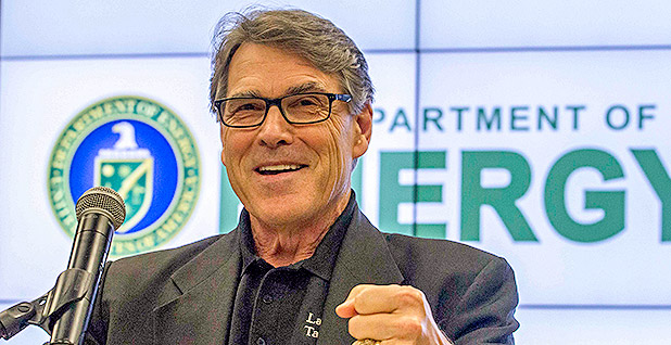 Rick Perry. Photo credit: Simon Edelman/Department of Energy/Flickr