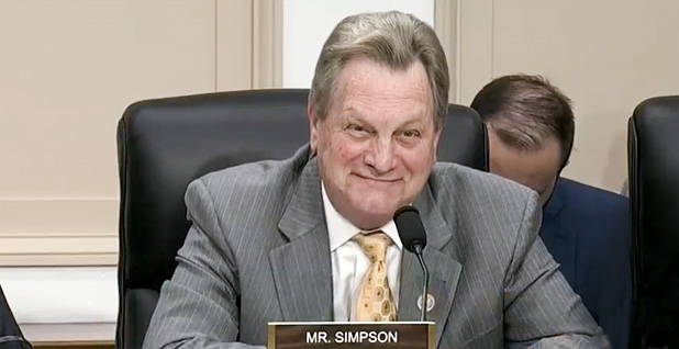 Rep. Mike Simpson. Photo credit: C-SPAN