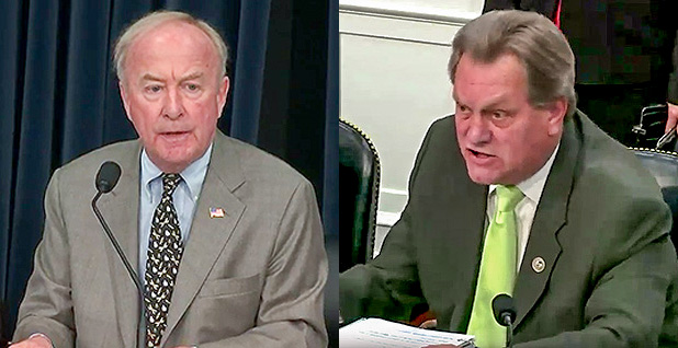 Rodney Frelinghuysen and Mike Simpson. Photo credit: House Appropriations Committee/YouTube