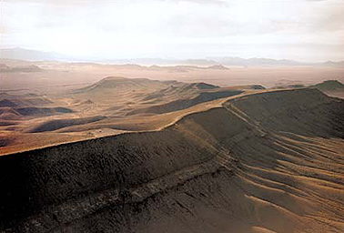 Yucca Mountain. Photo credit: Eureka County, Nev., Nuclear Waste Office
