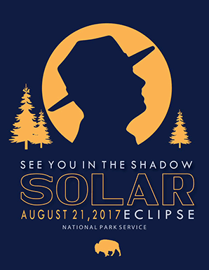 NPS eclipse poster. Image credit: @NatlParkService/Twitter