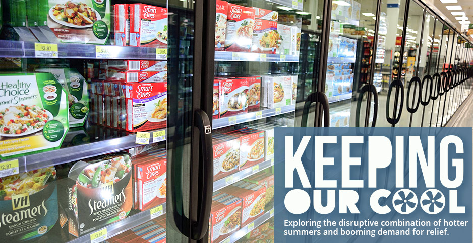 Frozen food aisles in a North America supermarket. Photo credit: Open Grid Scheduler Grid Engine/Flickr