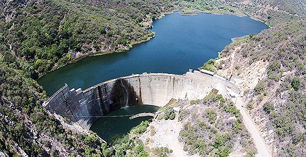 Matilija Dam. Photo credit: Ventura County Watershed Protection District/Wikipedia