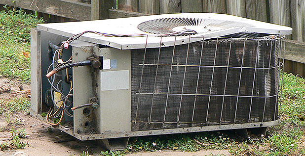 AC unit. Photo credit: Terry Ross/Flickr