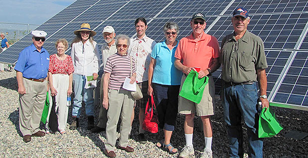 Community-solar project. Photo credit: Clean Energy Collective/National Rural Electric Cooperative Association