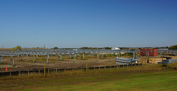 The Aurora solar project in Atwater, Minn.
