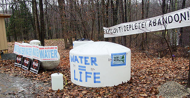 Contaminated water. Photo credit: RiverKeeper/Flickr