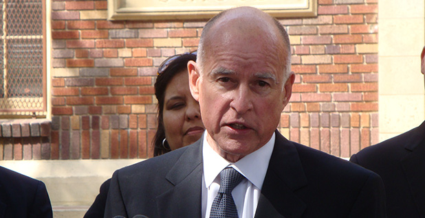 California Gov. Jerry Brown. Photo credit: NEON TOMMY/Flickr