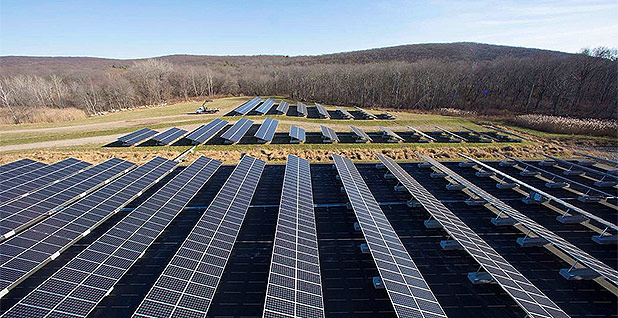 Solar installation in rural New Jersey. Photo credit: Suniva/Flickr