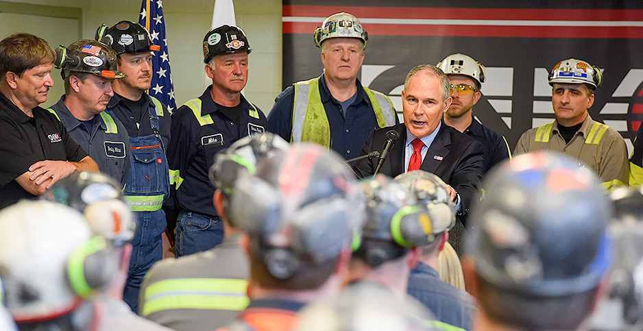 Scott Pruitt. Photo credit: U.S. EPA