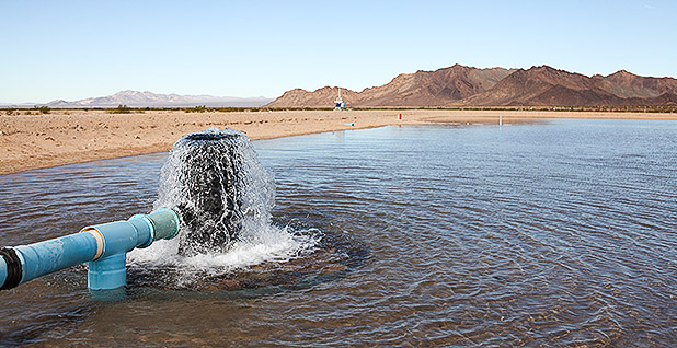 Cadiz water pump. Photo credit: Cadez Water Project