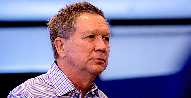 Ohio Gov. John Kasich (R).  Photo credit:Marc Nozell/Flickr