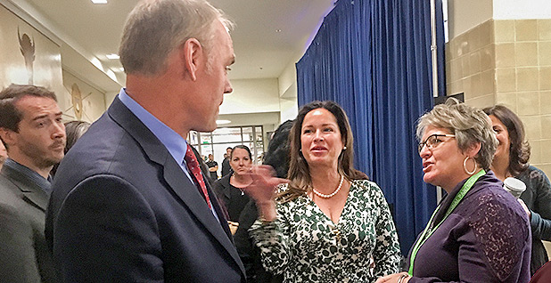 Ryan and Lolita Zinke. Photo credit: Pamela King/E&E News