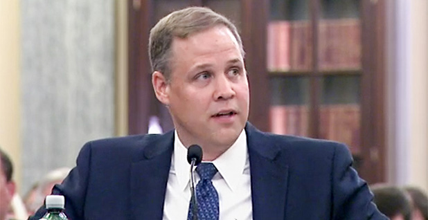 Rep. Jim Bridenstine. Photo credit: Senate Commerce, Science and Transportation Committee
