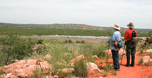 Lake Meredith National Recreation Area. Photo credit: National Park Service
