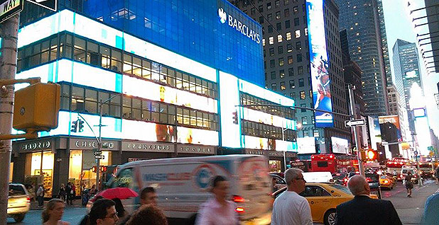 Barclays bank in New York. Photo credit: Deadly437/Wikipedia