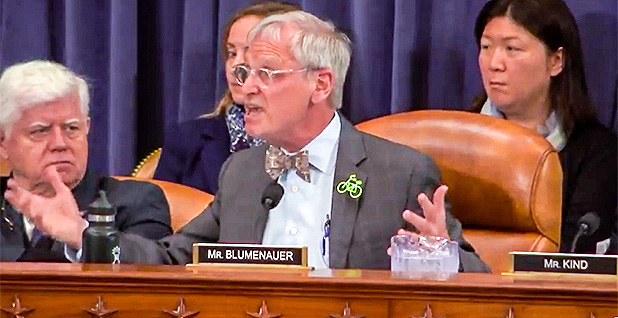 Rep. Earl Blumenauer (D-Ore.). Photo credit: Ways and Means Committee/YouTube