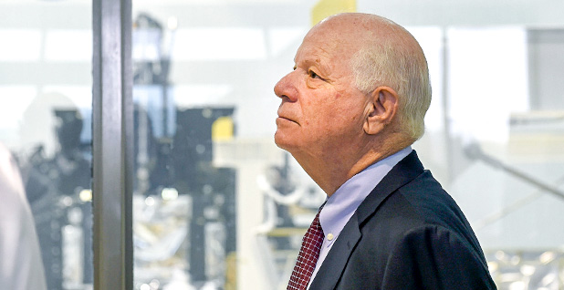 Sen. Ben Cardin (D-Md.). Photo credit: NASA/Goddard/Debbie Mccallum