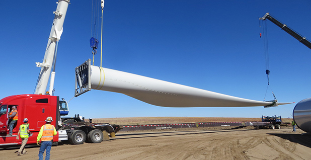 Xcel's 300-turbine project. Photo credit: Xcel Energy, Colorado