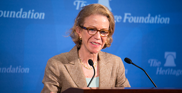 Kathleen Hartnett White. Photo credit:  Paul Morse/Heritage Foundation/Flickr