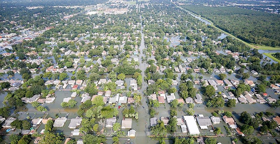Port Arthur, Texas hurricane Harvey flooding. Photo credit: Staff Sgt. Daniel J. Martinez/SC National Guard/Flickr