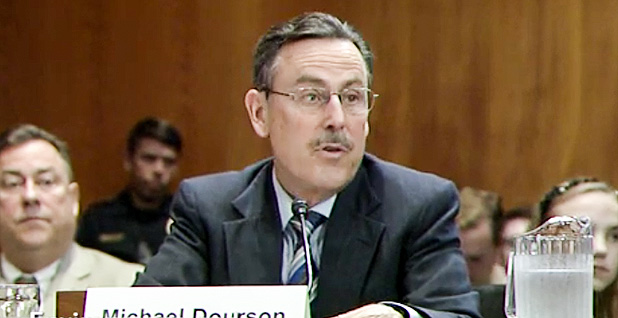 Michael Dourson. Photo credit: Senate Environment and Public Works Committee