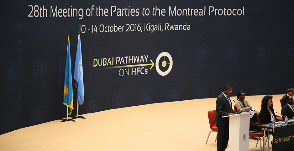 Kigali amendment to the Montreal Protocol. Photo credit: Rwanda Ministry of Environment/Flickr