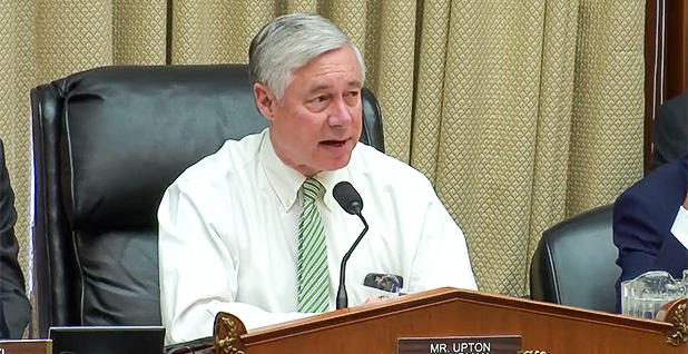 Fred Upton (R-Mich.). Photo credit: House Energy and Commerce Committee