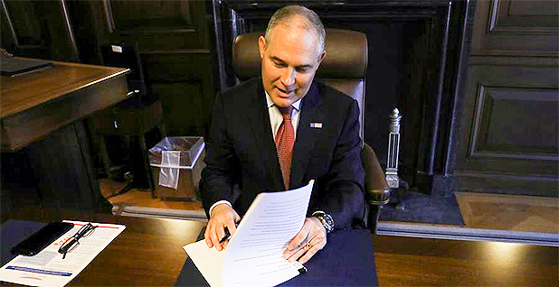 Scott Pruitt. EPA. Methane. Climate change. Trump. Photo credit: U.S. EPA