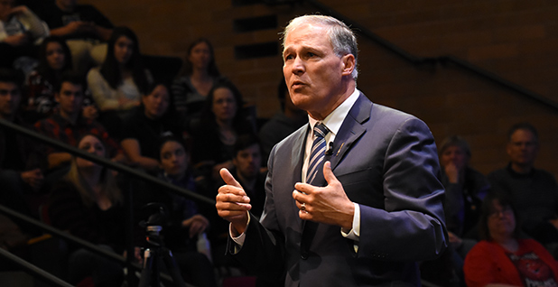 Inslee. Washington state. Climate change. Carbon tax. States. Photo credit: Jay Inslee/Flickr