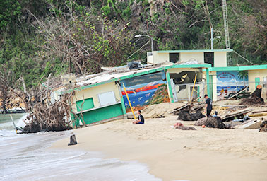 Crash Boat Beach, Aguadilla, Puerto Rico.  Photo credit: Arianna Skibell/E&E News