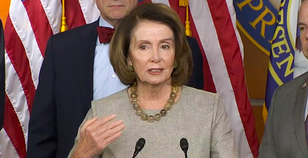 House Minority Leader Nancy Pelosi. Photo credit: C-SPAN
