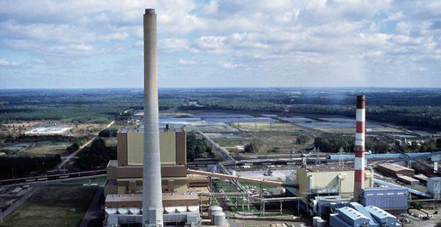 J.H. Campbell coal plant. Photo credit: Consumers Energy/Flickr