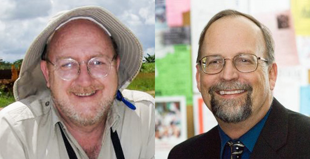 Murray Hitzman and Lawrence Meinert. Photo credit: Society of Economic Geologists (Hitzman); Meinert/LinkedIn