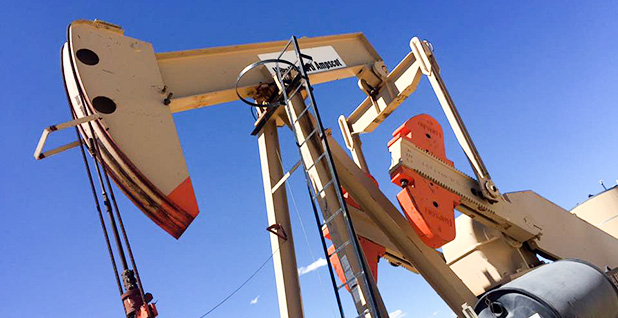 Pumpjack. Photo credit: Ellen M. Gilmer/E&E News