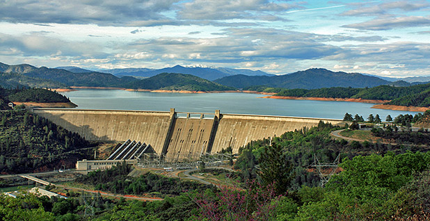 Shasta Dam. Photo credit: Wikipedia