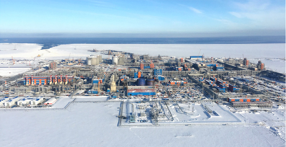 Russian gas exports. Photo credit: Yamal LNG
