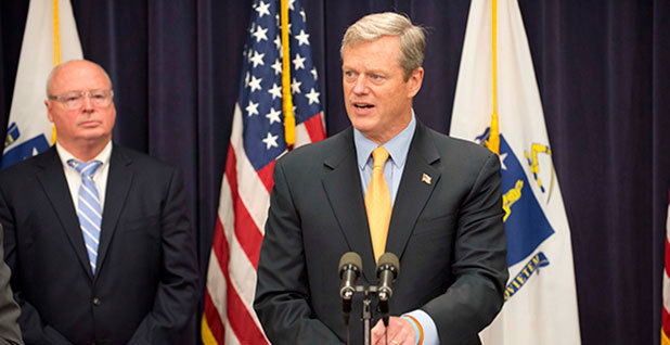 Massachusetts Gov. Charlie Baker. Photo credit: Joanne DeCaro/Flickr